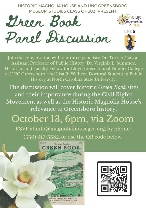 Green Book Panel Discussion Flyer